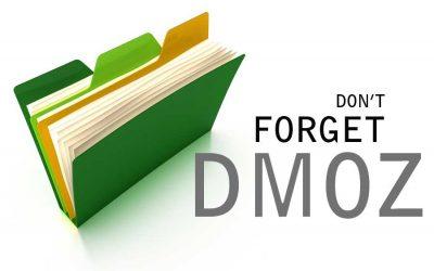 Don't Forget DMOZ!
