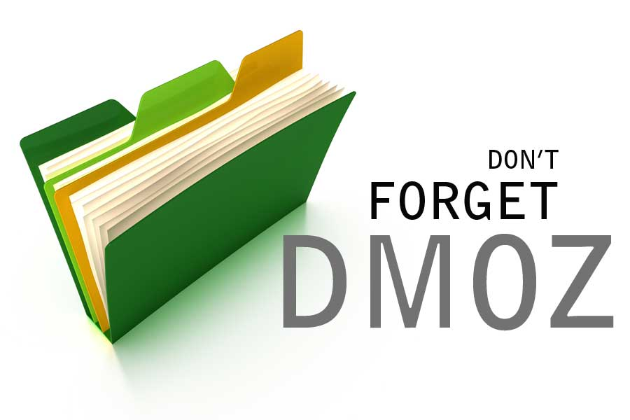 Don't Forget DMOZ!